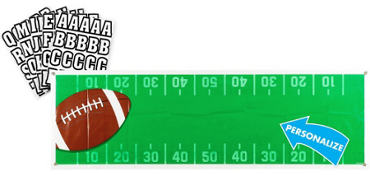Football Giant Custom Banner 6ft