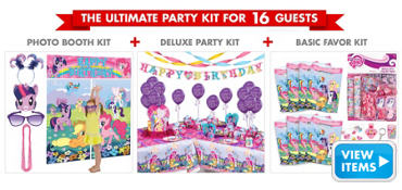 My Little Pony Party Supplies Ultimate Party Kit