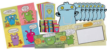 Uglydoll Favor Value Pack with 48 pieces