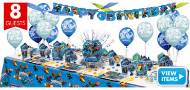 Skylanders Party Supplies Super Party Kit