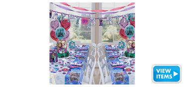 Frozen Party Supplies Deluxe Party Kit