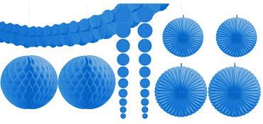 Royal Blue Decorating Kit 9pc