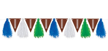 Football Tassel Garland
