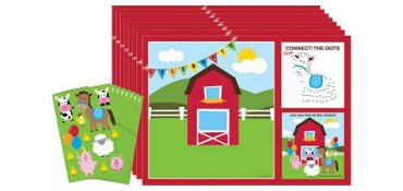Farmhouse Fun Activity Kits for 8