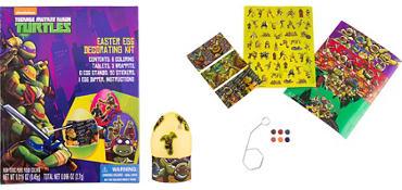 Teenage Mutant Ninja Turtles Easter Egg Decorating Kit