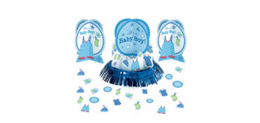 It's a Boy Baby Shower Table Decorating Kit 23pc