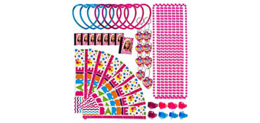 Barbie Favor Pack 48pc
