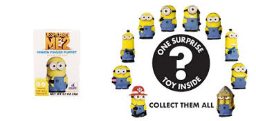 Despicable Me 2 Finger Puppet Mystery Pack