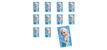 Jumbo Elsa Sticker 24ct - Frozen