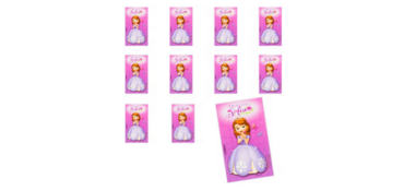Jumbo Sofia the First Stickers 24ct
