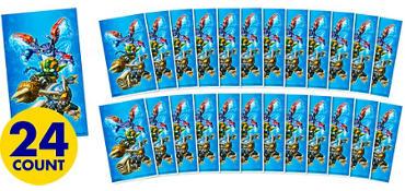 Jumbo Skylanders Stickers 24ct