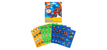 Blaze and the Monster Machines Sticker Book 9 Sheets