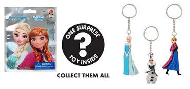 Frozen Keychain Mystery Pack