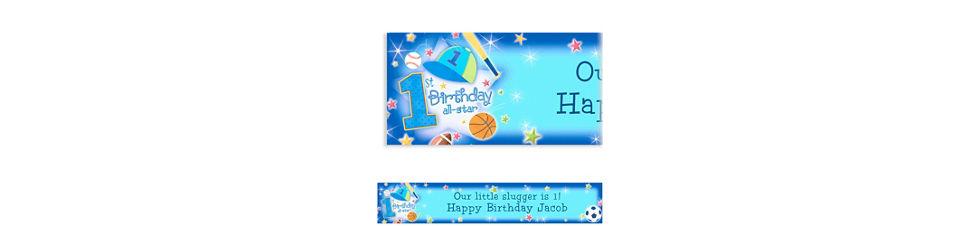 1st Birthday All Star Theme Custom All Star 1st Birthday