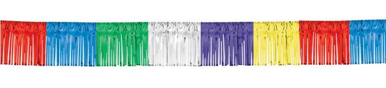 Multicolor Fringe Garland