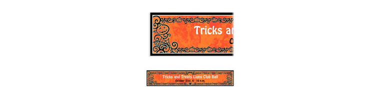 Gothic Greetings Halloween Custom Banner