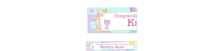 Custom Communion Celebration Banner 6ft