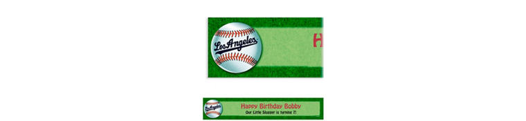 Los Angeles Dodgers Custom Banner 6ft