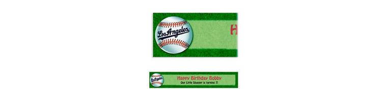 Custom Los Angeles Dodgers Banner 6ft