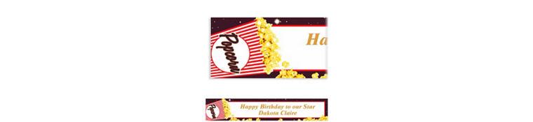 Movie Night Custom Banner 6ft