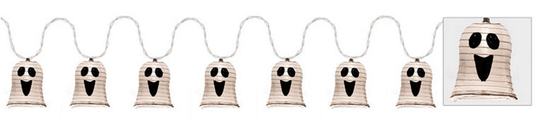 Ghost Shaped Lantern Lights