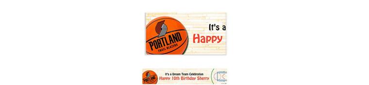 Custom Portland Trail Blazers Banner 6ft