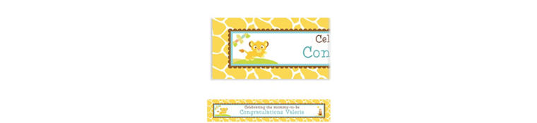 Custom Lion King Baby Shower Baby Shower Banner 6ft