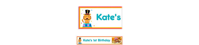 Custom Fisher Price 1st Birthday Photo Banner 6ft