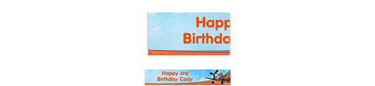 Planes Custom Banner