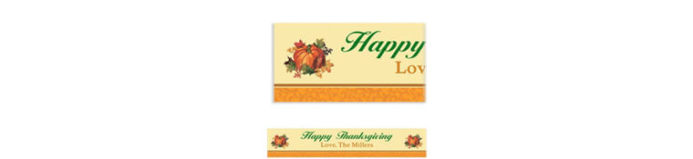 Bountiful Holiday Custom Banner