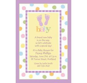 custom baby steps baby shower invitations as low as 0 90 each sku