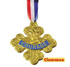Wizard of Oz Cowardly Lion Badge of Courage