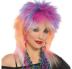 Punky Pop Rock Wig