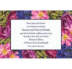 Garden Bouquet Custom Invitation