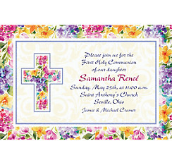 Joyful Blessing Custom Invitation