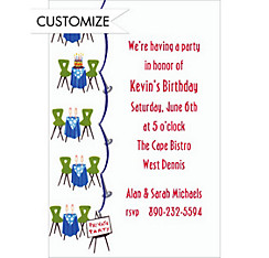 Private Party Custom Invitation