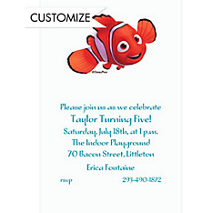 Nemo Custom Invitation