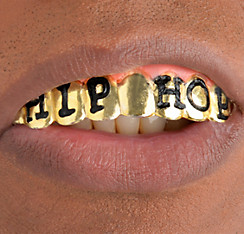 Grillz Hip Hop Gold Teeth