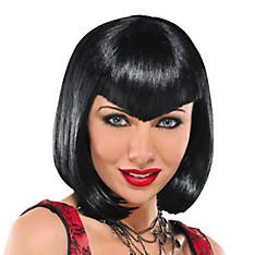 Va Va Vampiress Short Black Wig