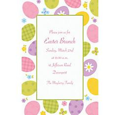 Eggstravaganza Custom Invitation