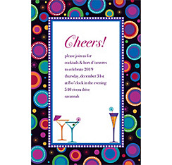 Modern New Years Custom Invitation
