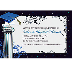 Dean's List Custom Graduation Invitation