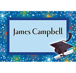 Custom Dazzling Grad Thank You Notes