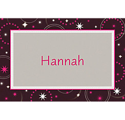 Sparkle Sweet 16 Custom Thank You Note