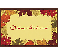 Autumn Medley Custom Thank You Note