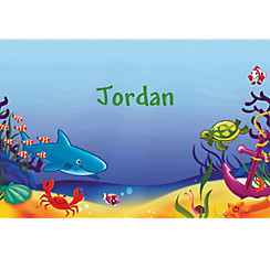 Deep Sea Fun Custom Thank You Note