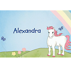 Pretty Ponies Custom Thank You Note