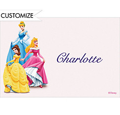 Three Posing Princesses Custom Thank You Note