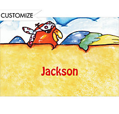 Pirate Map Custom Thank You Note