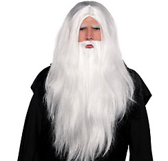 Merlin Wig & Beard